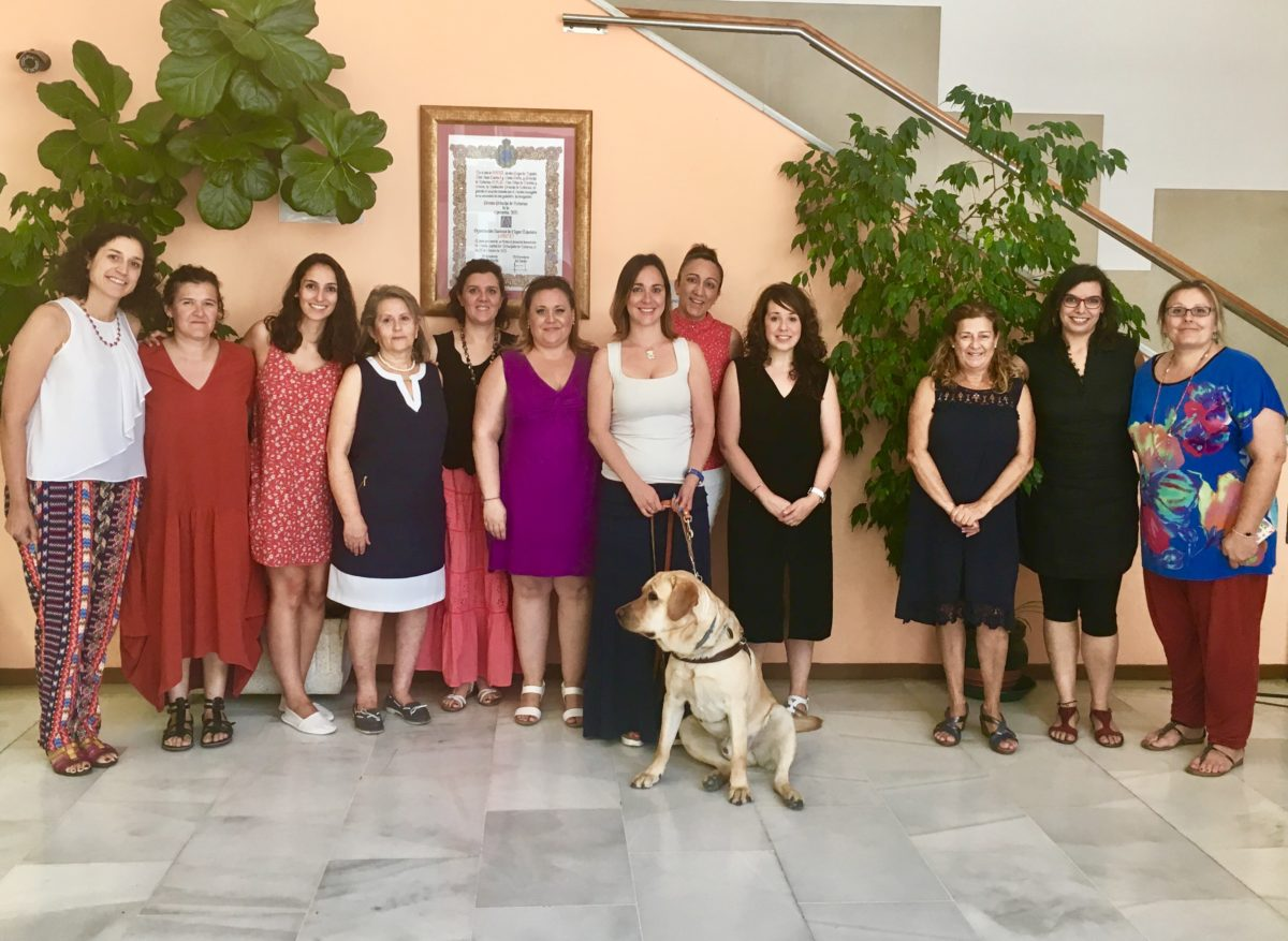 Miembros comisión de la mujer
