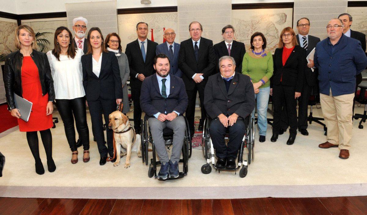 CERMI Castilla y León se reúne con el Presidente de la Junta de Castilla y León