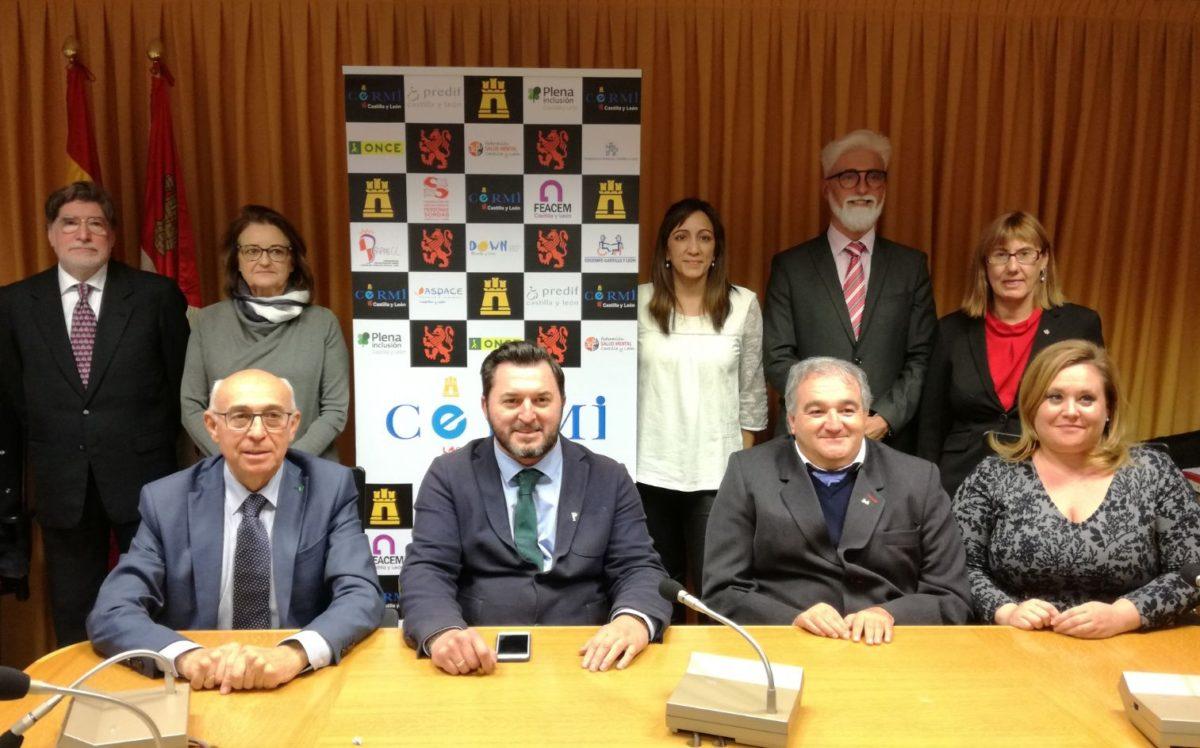 Representantes CERMI Castilla y León