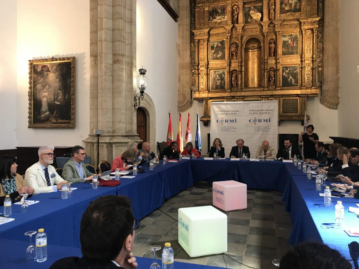El CERMI celebra su Comité Ejecutivo en la Universidad de Salamanca