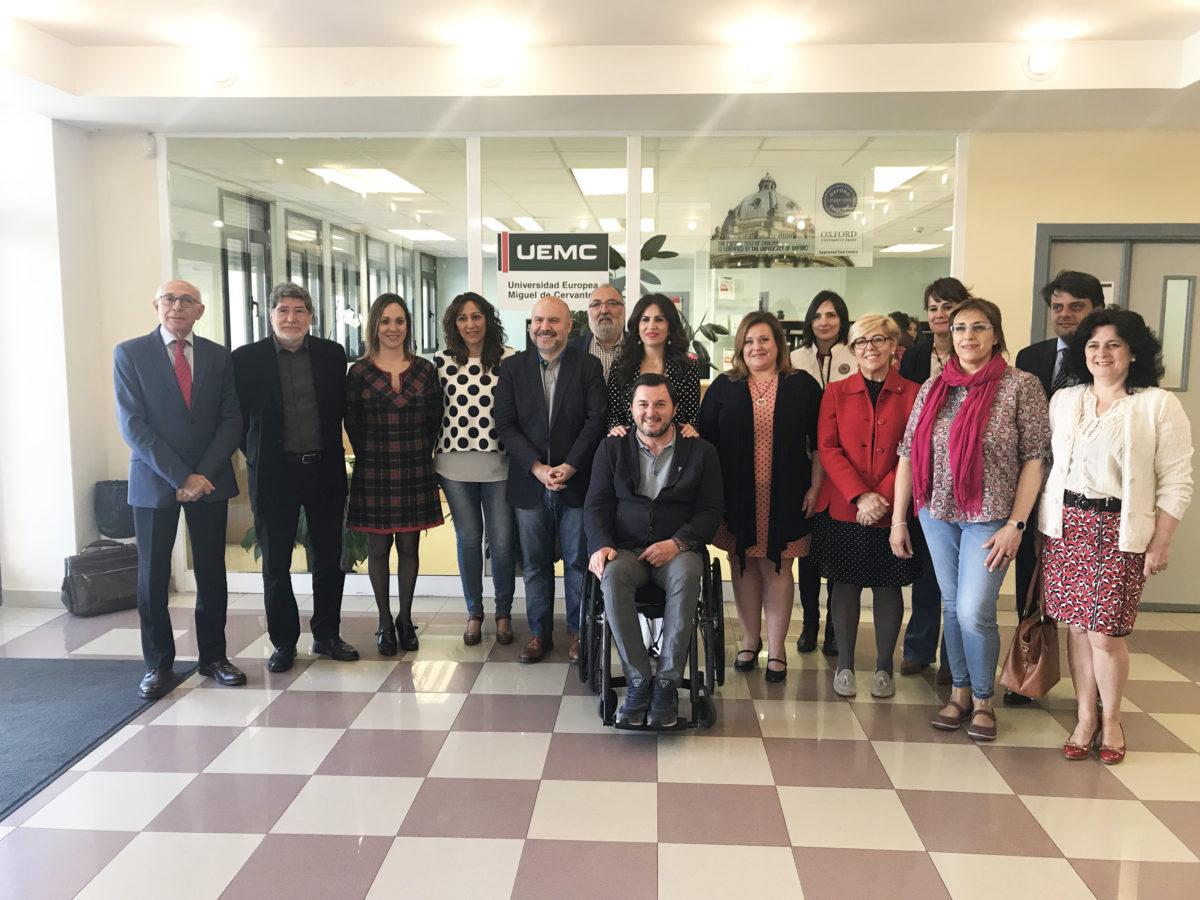 La Junta Directiva del CERMI Castilla y León se reúne en la Universidad Europea Miguel de Cervantes