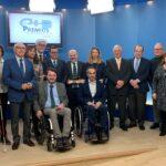 Entregado el 'Premio Cermi.es 2018' a la Consejería de Familia e Igualdad de Oportunidades, PREDIF CyL y Federación de Salud Mental Castilla y León