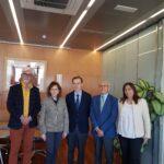 CERMI CASTILLA Y LEÓN  SE REÚNE CON  EL PRESIDENTE DEL CONSEJO ECONÓMICO Y SOCIAL DE CASTILLA Y LEÓN