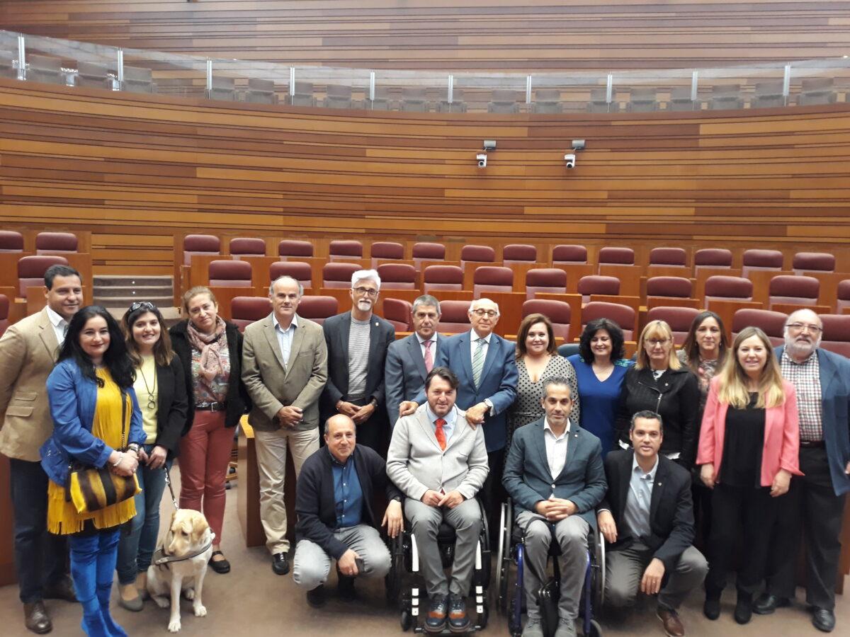 Las Cortes de Castilla y León, comprometidas con la discapacidad y la Convención