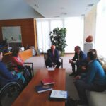 El presidente de las Cortes recibe al presidente de CERMI Castilla y León