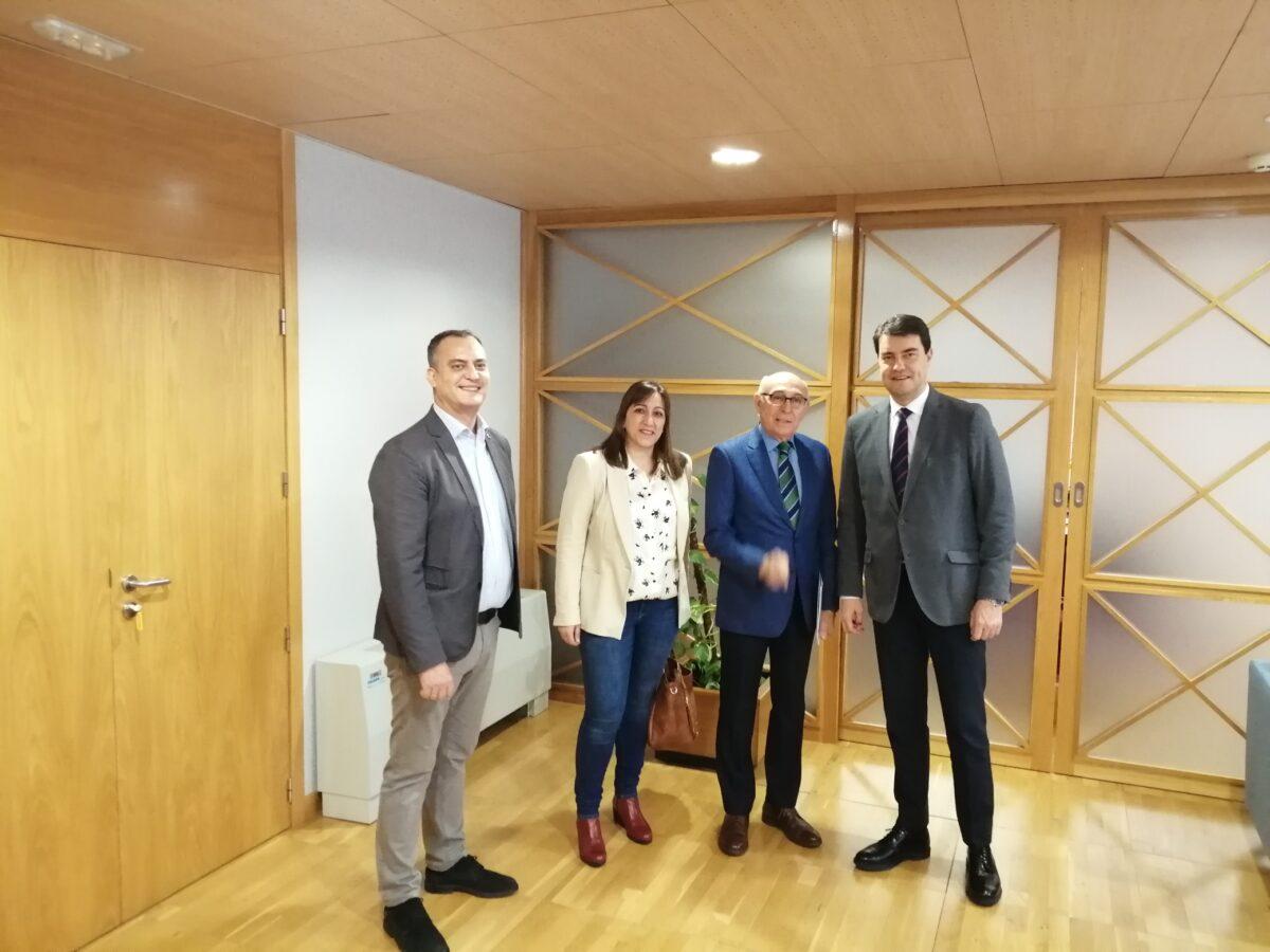 CERMI Castilla y León se reúne con el consejero de la Presidencia de la Junta para trasladarle sus demandas