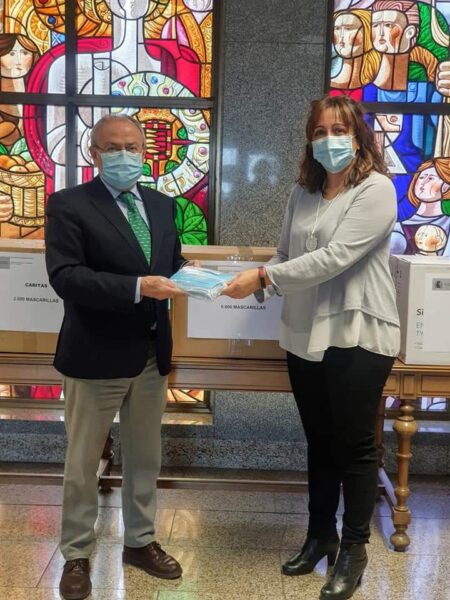 CERMI CYL agradece al Ministerio de Sanidad la dotación de 24.000 mascarillas para sus entidades